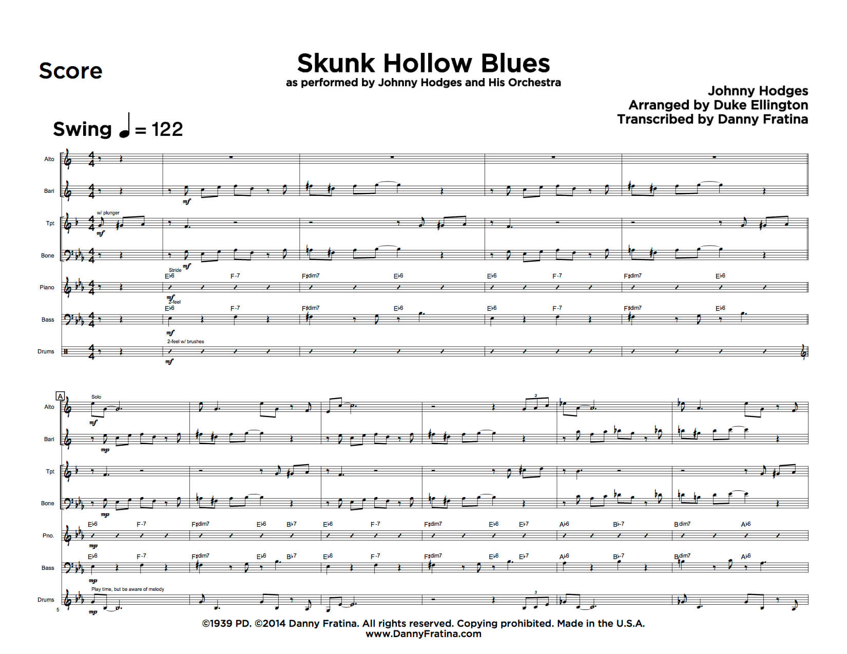 Skunk Hollow Blues